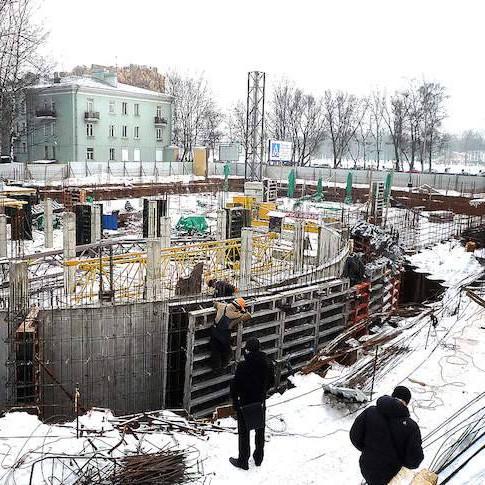 Комплекс Приморский 43 этапы строительства